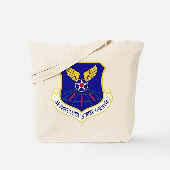 USAF Global Strike Command Badge Tote Bag