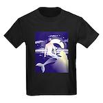 Mermaid Art Kids Dark T-Shirt