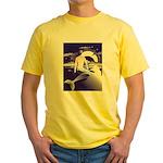Mermaid Art Yellow T-Shirt