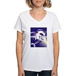 Mermaid Art Women's V-Neck T-Shirt