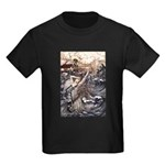 Mermaid Art Kids Dark T-Shirt