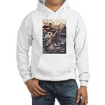 Mermaid Art Hooded Sweatshirt