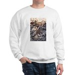 Mermaid Art Sweatshirt