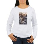 Mermaid Art Women's Long Sleeve T-Shirt