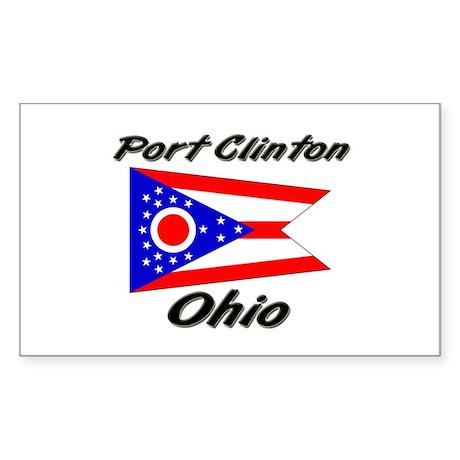 Portage Lakes Ohio Rectangle Sticker