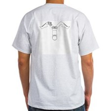 Satire Brasilia Ash Grey T-Shirt
