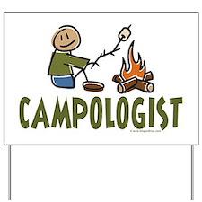 Camping Yard Sign