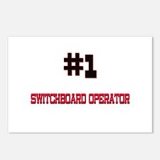 Number 1 SWITCHBOARD OPERATOR Postcards (Package o