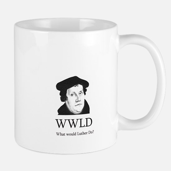What would Luther do? Mugs
