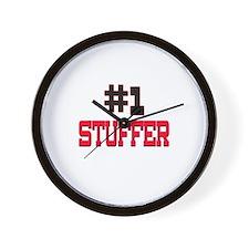 Number 1 STUFFER Wall Clock