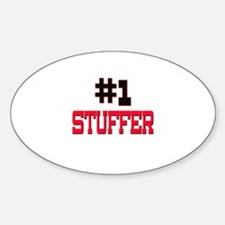 Number 1 STUFFER Oval Decal