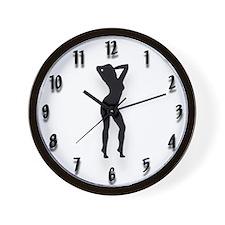 Unique Porn girls Wall Clock