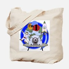 Outer Space 1st Birthday Tote Bag