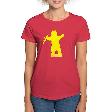 Russian Bear - Women's Dark T-Shirt