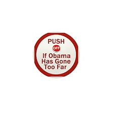 Push Off Mini Button (10 pack)