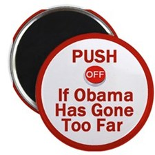 """Push Off 2.25"""" Magnet (100 pack)"""