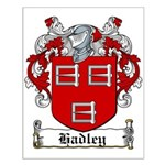 Hadley Coat of Arms Small Poster