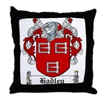 Hadley Coat of Arms Throw Pillow