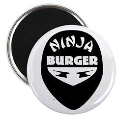 "Ninja Burger 2.25"" Magnet (10 pack)"