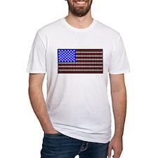 Dog Tracks Flag Shirt