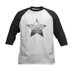 The Stinkin Badge Kids Baseball Jersey