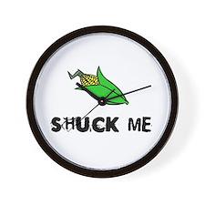 Shuck Me Wall Clock