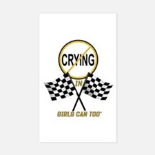 "GC2 ""No Crying"" Rectangle Decal"