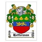 Hefferman Coat of Arms Small Poster
