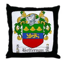 Heffernan Coat of Arms Throw Pillow