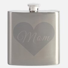 Mom Heart Flask