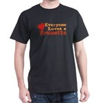 Everyone Loves a Brunette Black T-Shirt