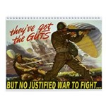 2013 War Is Suck Wall Calendar