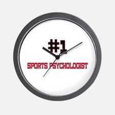 Number 1 SPORTS PSYCHOLOGIST Wall Clock