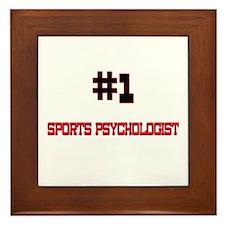 Number 1 SPORTS PSYCHOLOGIST Framed Tile
