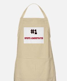 Number 1 SPORTS ADMINISTRATOR BBQ Apron