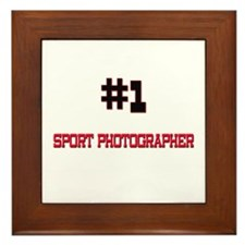 Number 1 SPORT PHOTOGRAPHER Framed Tile