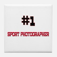 Number 1 SPORT PHOTOGRAPHER Tile Coaster