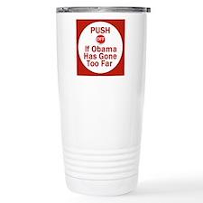 Push Off Travel Coffee Mug