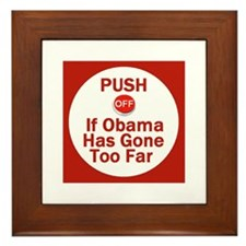 Push Off Framed Tile