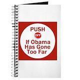 Anti obama Journals & Spiral Notebooks