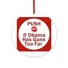 Push Off Ornament (Round)