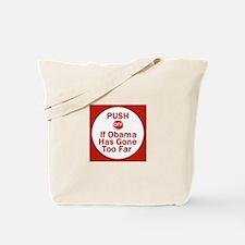 Push Off Tote Bag