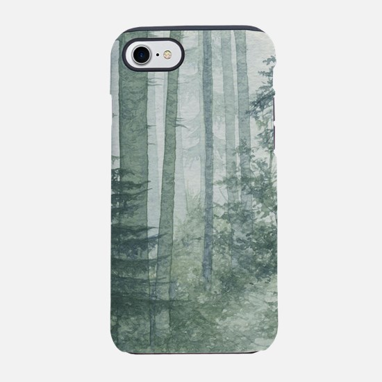 Misty Forest iPhone 7 Tough Case