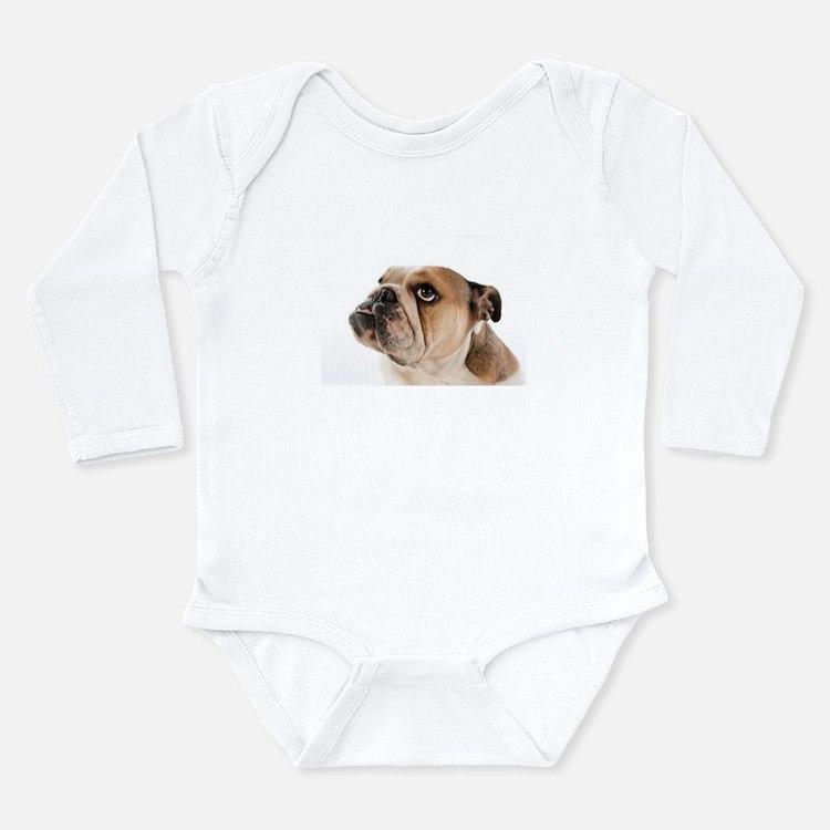 English Bulldog Infant Creeper Body Suit