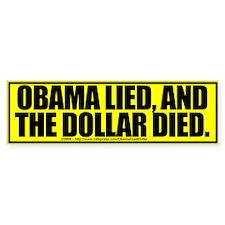 Obama Lied - Bumper Bumper Sticker