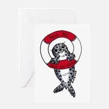 Save the Seals Greeting Card