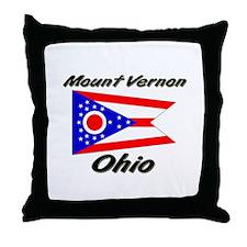 Mount Vernon Ohio Throw Pillow