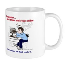 Don't Drink and Read Mug