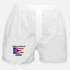 Mount Gilead Ohio Boxer Shorts