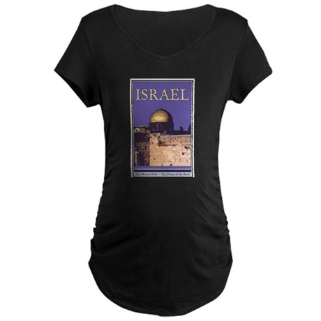 Israel Maternity Dark T-Shirt